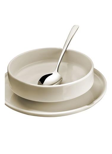 Kütahya Porselen Chef Taste Of 22 Cm Kayık Tabak Krem Krem
